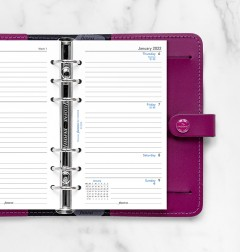 Week On Two Pages Lined Diary Personal 2022