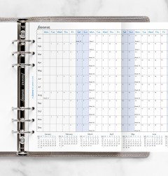Horizontal Year Planner A5 2022