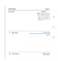 Week On Two Pages Diary Personal 2020 PRE-ORDER
