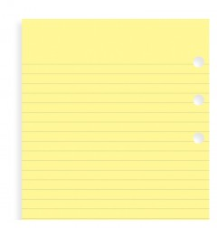 Yellow Ruled Notepaper Refill