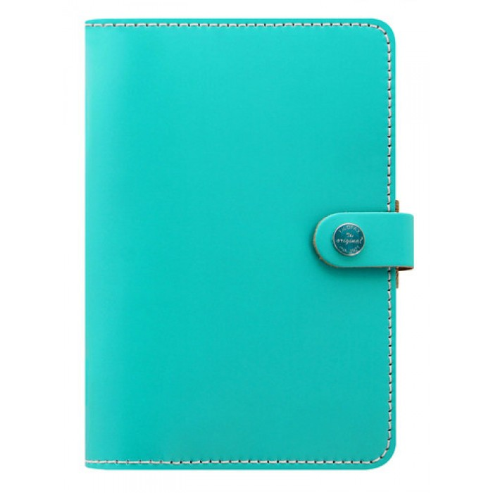 The Original Personal Organiser Pillarbox Turquoise- Any Year