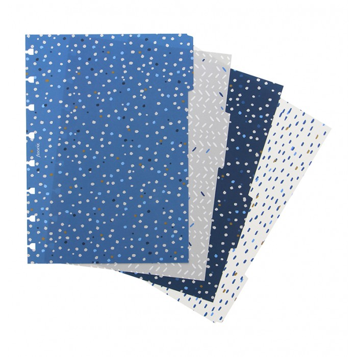 Indigo A5 Notebook Dividers