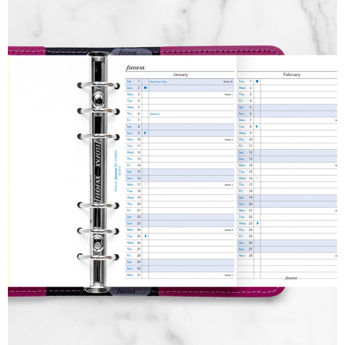Vertical Year Planner Personal 2022