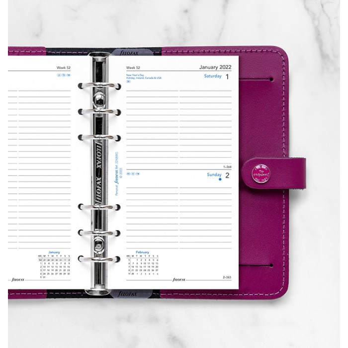 One Day On A Page Diary With Appointments Personal 2022