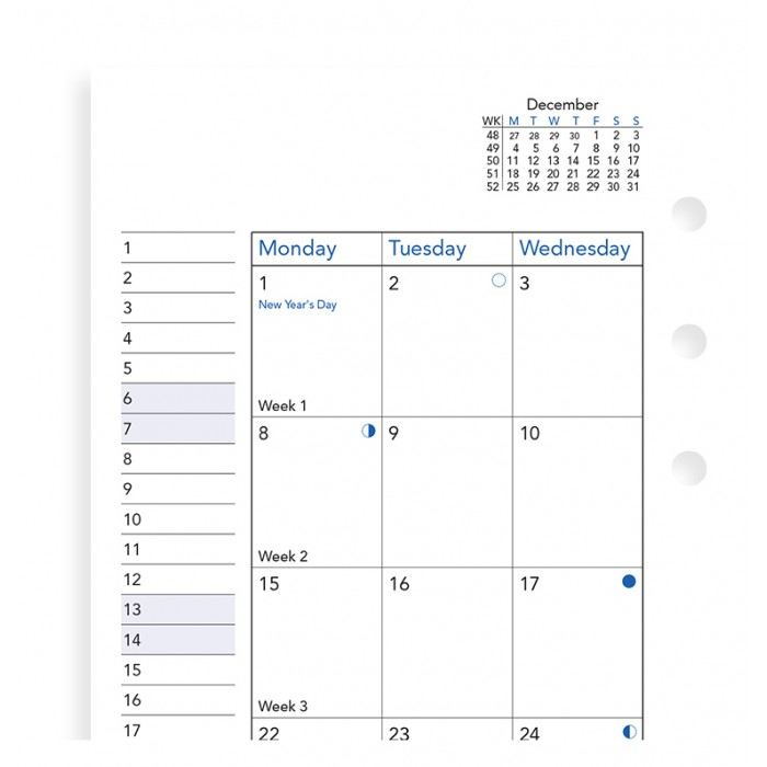 Month On Two Pages Diary Personal 2021
