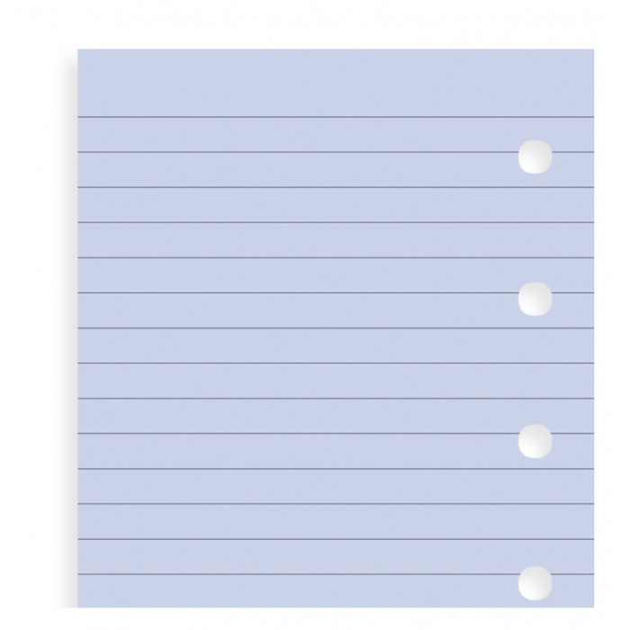 Lavender Ruled Notepaper Mini Refill